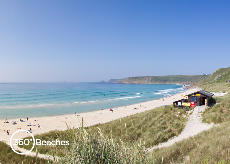 Sennen Cove | Lands End | 360º Beaches in Cornwall Relaxing Dogs