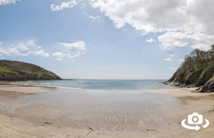 Caerhays Beach Cornwall | 360º Beaches