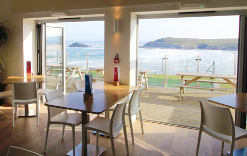 Crantock Beach Cafe Newquay Cornwall