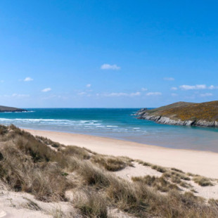 Crantock beach near Newquay Cornwall
