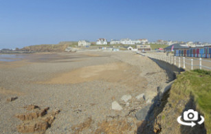Crooklets beach in Bude, North Cornwall