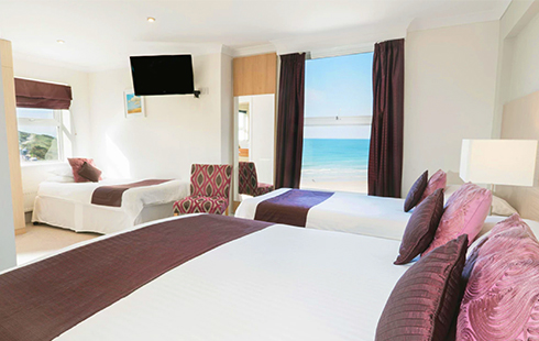 stay at the esplanade hotel fistral beach newquay cornwall