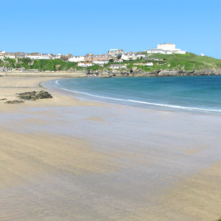 Great Western Beach in Newquay Cornwall