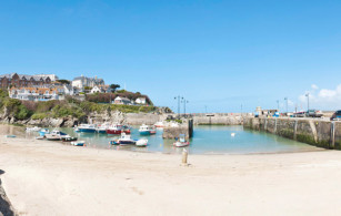 Harbour Beach in Newquay Cornwall