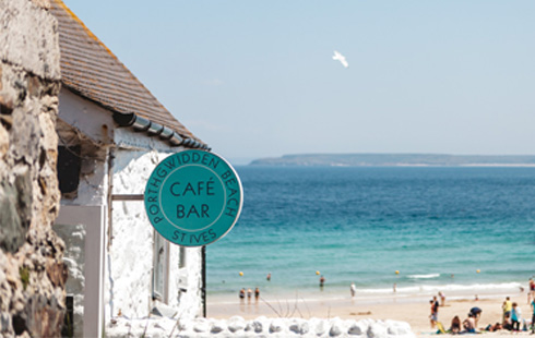porthgwidden beach cafe St Ives Cornwall