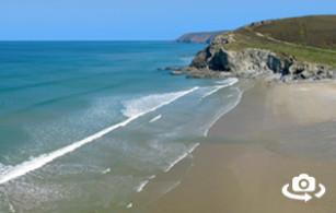 Porthtowan Beach St Agnes Cornwall