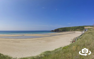 Praa Sands Beach near Penzance in West Cornwall