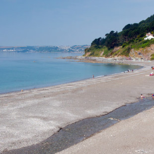 Seaton Beach in Cornwall