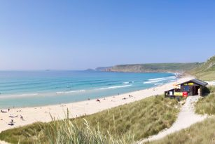 Sennen Cove Beach in West Cornwall