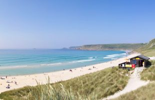 Sennen Cove Beach in West Cornwall