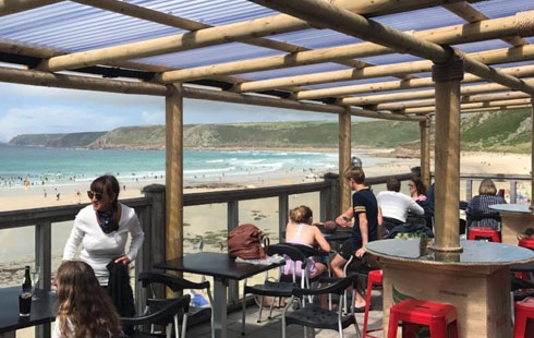 Sennen Surf Beach Bar