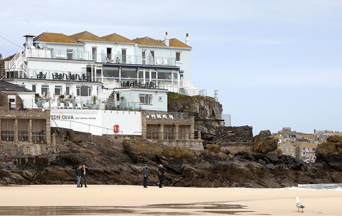 stay at pedn olva hotel porthminster beach st ives cornwall