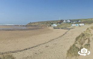 Summerleaze beach in Bude, North Cornwall