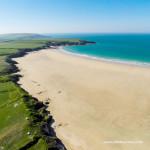 Harlyn Bay beach near Padstow in North Cornwall
