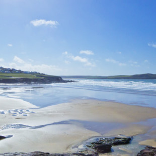 Polzeath beach in North Cornwall
