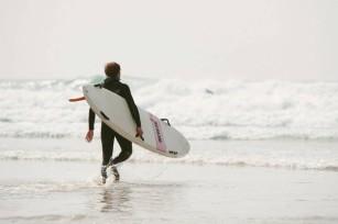 Watergate Bay Newquay Cornwall English National Surfing Championships