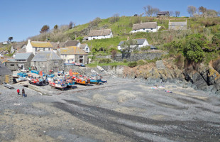 Cadgwith cove on the lizard peninsula in South Cornwall