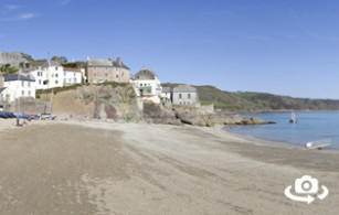 Cawsand Bay Beach in East Cornwall