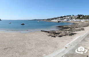 Summers Beach in St Mawes, Cornwall