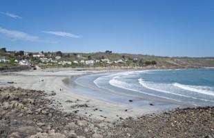 Coverack beach on The Lizard Peninsula in West Cornwall