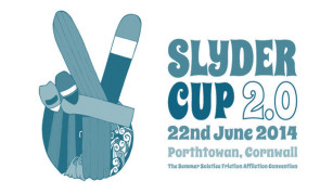 Slyder Cup 2.0 surfing event on Porthtowan Beach, Cornwall June 22nd