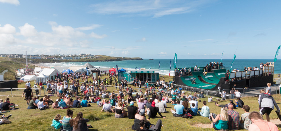Boardmasters Festival Newquay Cornwall © Felix Northover