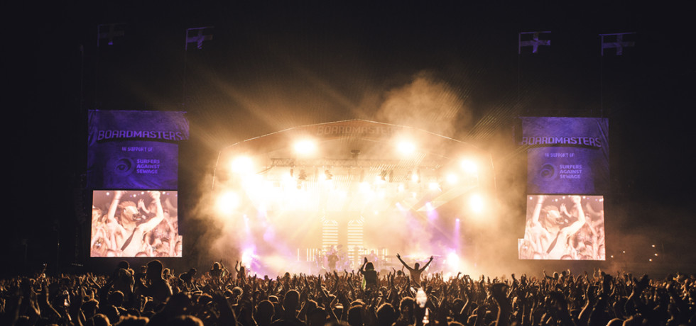 Boardmasters Festival Newquay Cornwall © Sam Neill