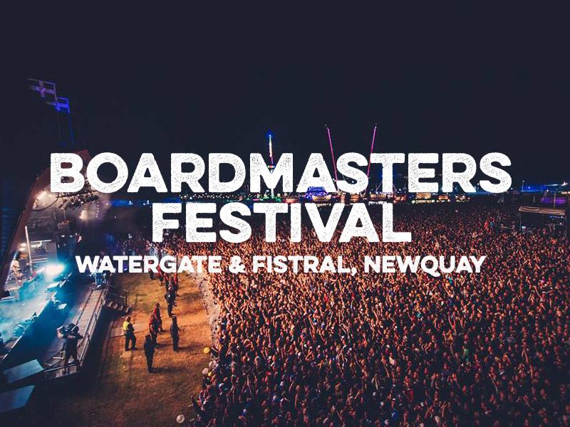 Boardmasters Festival 2016 Newquay Cornwall Watergate Bay Fistral Beach