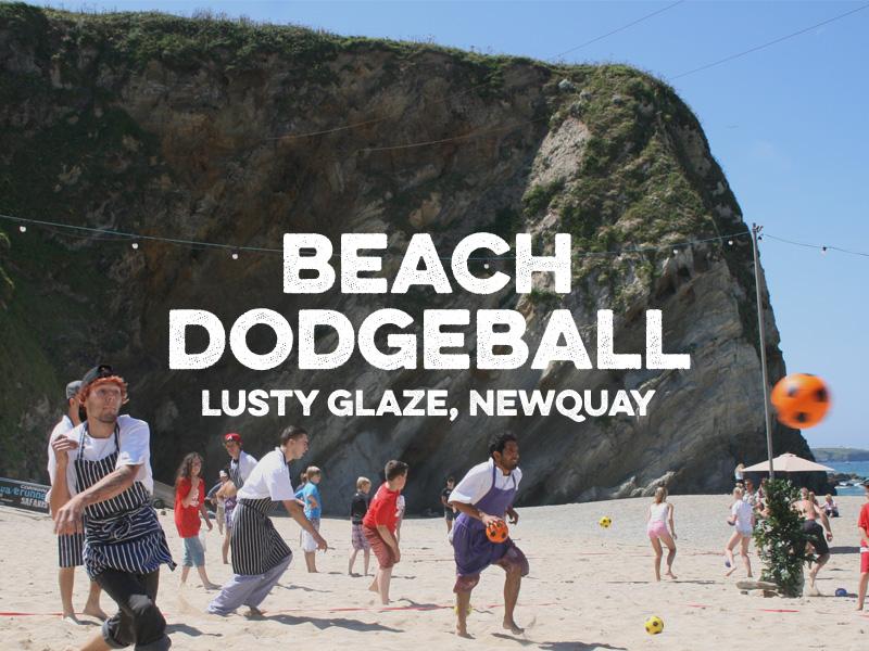 Lusty Glaze Beach Volleyball 2016 Newquay Cornwall