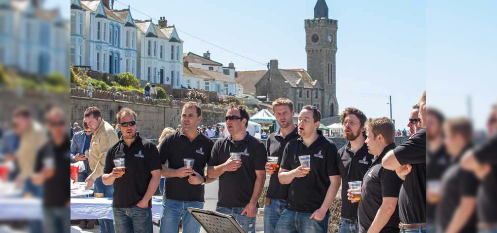 Porthleven food and music festival 2015