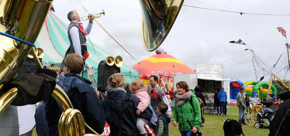 Rock Oyster Festival 2015 Wadebridge, Cornwall