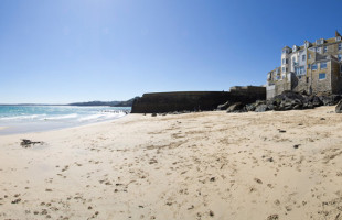 Bamaluz beach St Ives Beaches