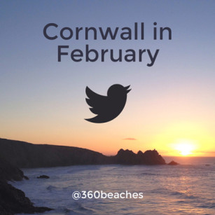 Cornwall in February - A collection of the most beautiful Cornish beach photos taken in February