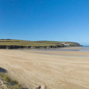 Harbour Cove beach near Padstow in North Cornwall