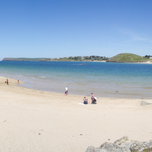 St George's Cove near Padstow in North Cornwall