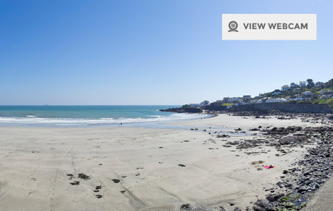 View live webcam of Coverack beach on the Lizard Peninsula in West Cornwall