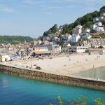 Click to view East Looe beach Webcam