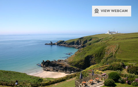View live webcam of Housel Bay on the Lizard Peninsula in West Cornwall