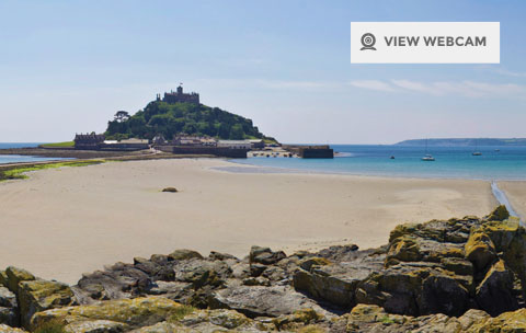 St michaels mount webcam marazion penzance