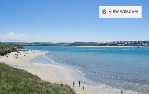View live webcam of Rock and the Camel Estuary overlooking Padstow in North Cornwall