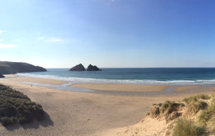Holywell Bay Beach near Newquay Cornwall