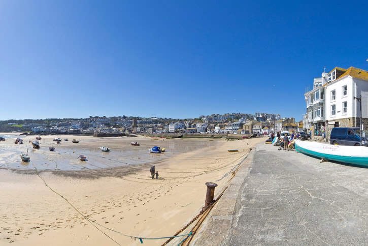 Harbour Beach St Ives