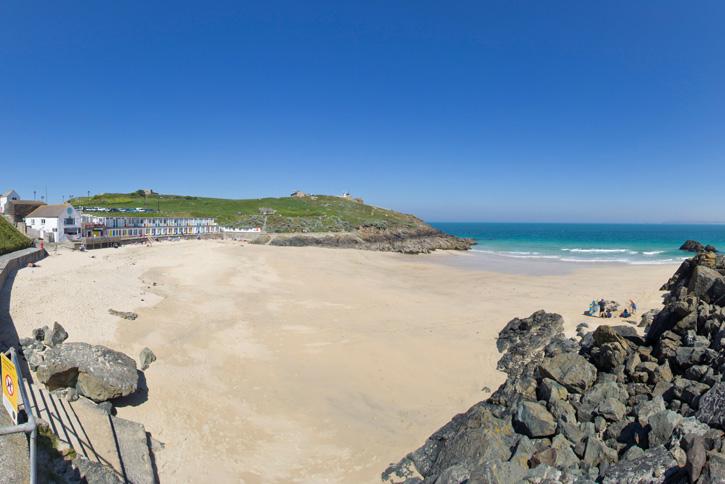 Porthgwidden Beach St Ives Cornwall