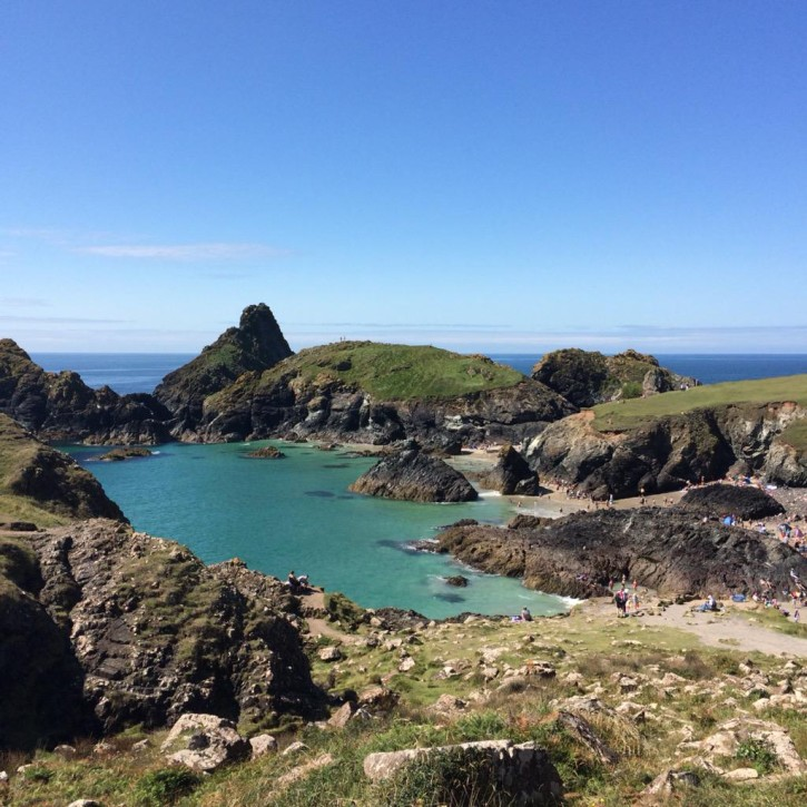 Kynance Cove the lizard peninsula by lauren potts