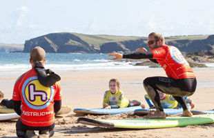 Padstow surfing lessons