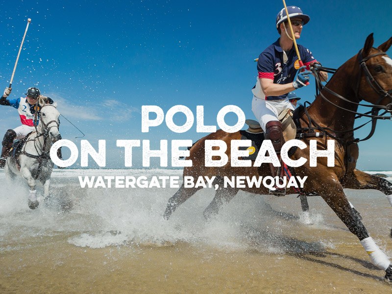 Polo on the beach 2016 watergate bay newquay cornwall