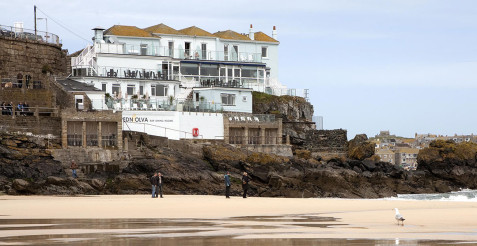 Stay at the Pedn-olva hotel in St Ives Cornwall