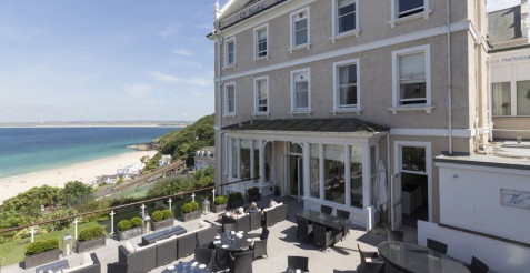 Stay at the St Ives Harbour Hotel & Spa in St Ives Cornwall