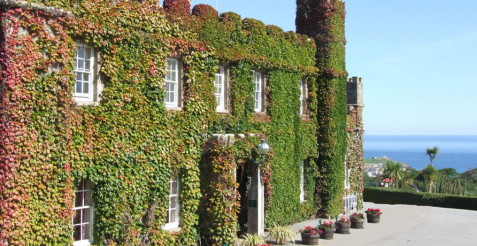 Stay at the Tregenna Castle in St Ives Cornwall