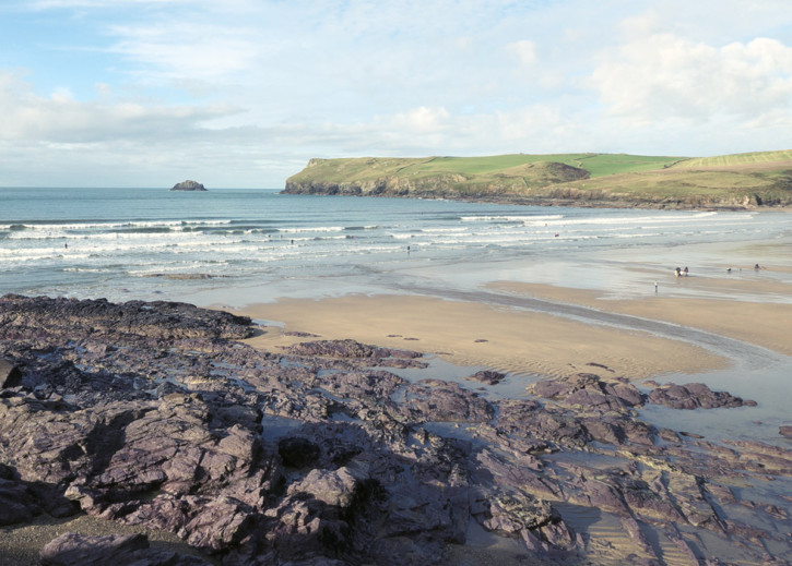 Polzeath beach, North Cornwall